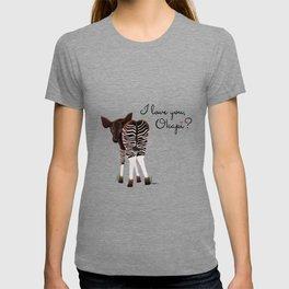 I Love You, Okapi? T-shirt