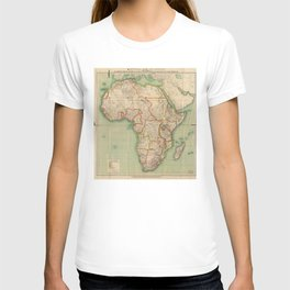 General Map of Africa (1909) T-shirt