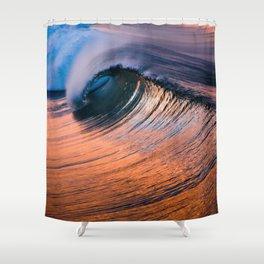 HB Sunrise Barrel   9/11/15 Shower Curtain