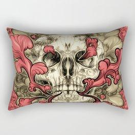 Tattooed Skull Rectangular Pillow