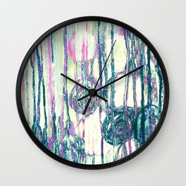 Dripping Daisies Wall Clock