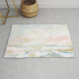 Golden Hour - Pastel Seascape Rug