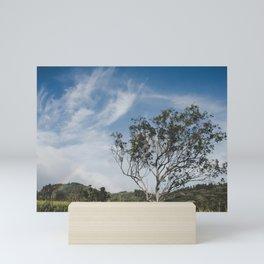 Rainbow and Tree of Life - Hawaii Mini Art Print