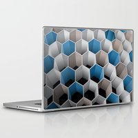 honeycomb Laptop & iPad Skins featuring Honeycomb by amanvel