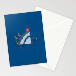 Rudolph Shark Stationery Cards