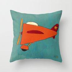 Air-Plane Throw Pillow