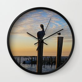 Duplicitous Characters I Wall Clock