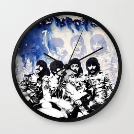 John-Paul-George-Ringo Blues Wall Clock