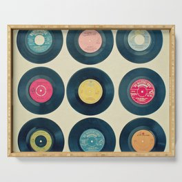 Vinyl Collection Serving Tray