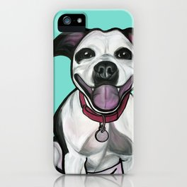 Dolce the Pitbull iPhone Case