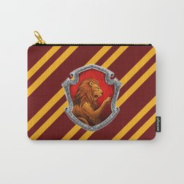 Gryffindor Hogwarts Stripes Carry-All Pouch