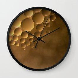 Many moons. Wall Clock