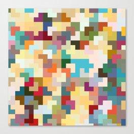 Dreams of Tetris Canvas Print
