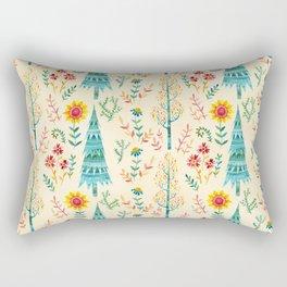 Meadow Wandering Rectangular Pillow