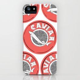Caviar iPhone Case