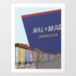 Urban Sprawl Art Print