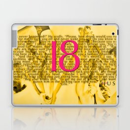 Eighteen (18) by JA Huss Based on a True Story Laptop & iPad Skin
