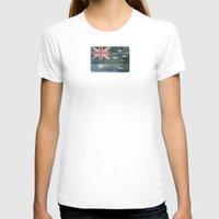australia T-shirts featuring Australia by Arken25