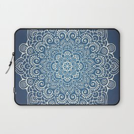 Mandala dark blue Laptop Sleeve