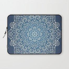 Mandala dark blue Laptop Sleeve