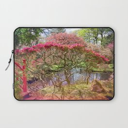 Japanese Garden And Pond Laptop Sleeve