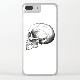 Skull 7 Clear iPhone Case