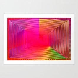 Optical deeps 1 Art Print