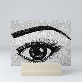 That Eyes Mini Art Print