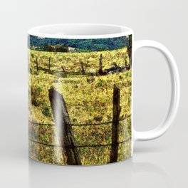 Old Fences Tell A Tale #2 Coffee Mug