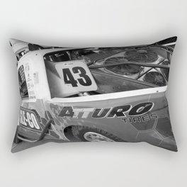 Track Noir TORC #7 Rectangular Pillow
