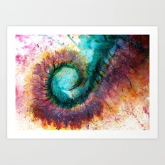 Centepede  Art Print
