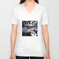 sonic V-neck T-shirts featuring Sonic by Subcon