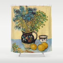 Vincent Van Gogh - Still Life Shower Curtain