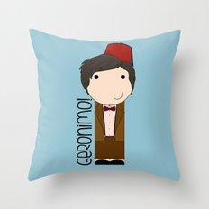 Geronimo!  Throw Pillow