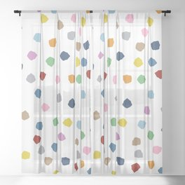 Blossom Petals Sheer Curtain