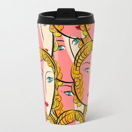 Comics Pop Girl Pattern Travel Mug
