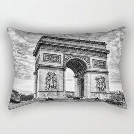 Arc De Triomphe - Paris (BW Version) Rectangular Pillow