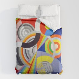 Robert Delaunay - Rhythm N1, Decoration For The Salon Des Tuileries - Digital Remastered Edition Comforters