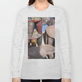 African village Long Sleeve T-shirt