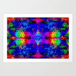 Relax with colors 5 ... Art Print