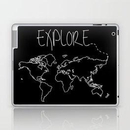 Explore World Map Laptop & iPad Skin