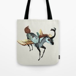 Tiny Unicorn (1 of 3) Tote Bag