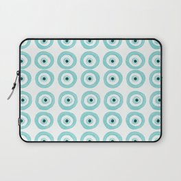 Baby Blue Evil Eye Laptop Sleeve