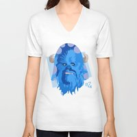 monster inc V-neck T-shirts featuring Wookies Inc. by The Ceza