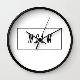 MSLM x Box Wall Clock