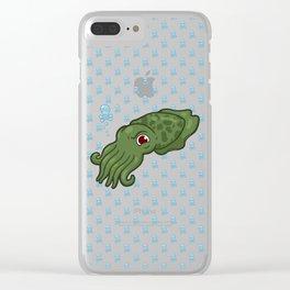 Cuttlefish - Cthulu Edition Clear iPhone Case