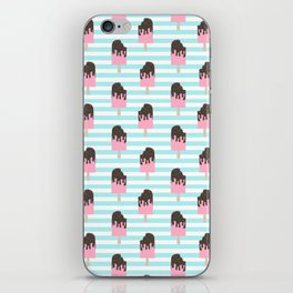 ice cream bar stripes food fight apparel and gifts iPhone Skin