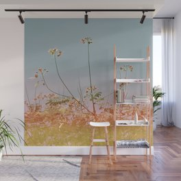 Flowers#retro#film#effect Wall Mural