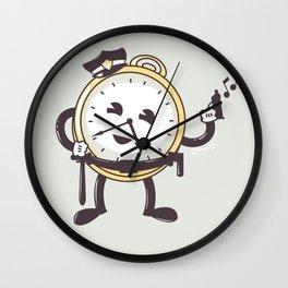 TimeCop Wall Clock