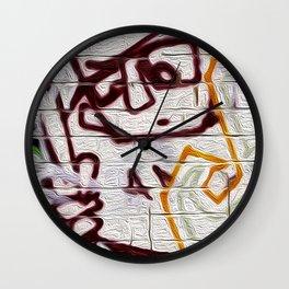 retro scan 001 Wall Clock